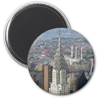 Chrysler Building New York City 2 Inch Round Magnet