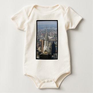 Chrysler Building New York City Baby Bodysuit