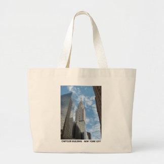Chrysler Building New York City Bags