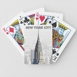 Chrysler Building New York City Bicycle Playing Cards
