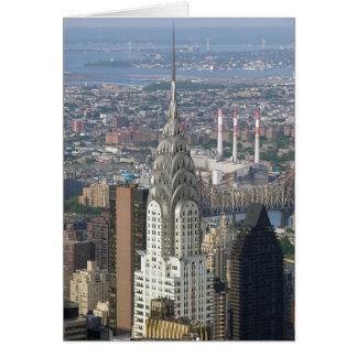 Chrysler Building New York City Card