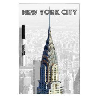Chrysler Building New York City Dry Erase Board
