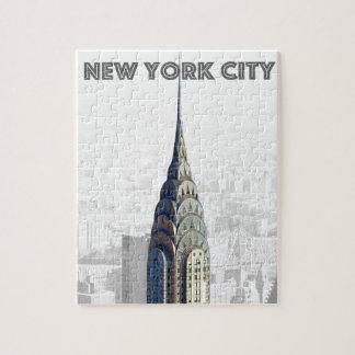 Chrysler Building New York City Jigsaw Puzzle