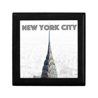 Chrysler Building New York City Keepsake Box