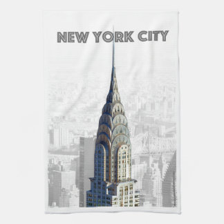 Chrysler Building New York City Kitchen Towel