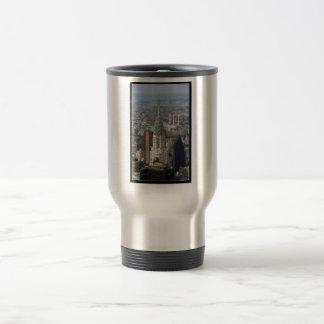 Chrysler Building New York City 15 Oz Stainless Steel Travel Mug