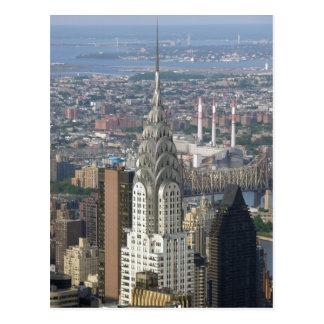Chrysler Building New York City Postcard