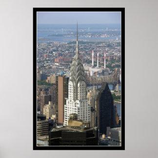 Chrysler Building New York City Poster
