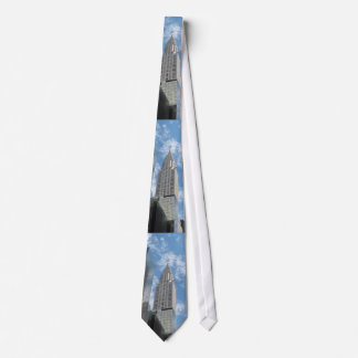 Chrysler Building New York City Tie
