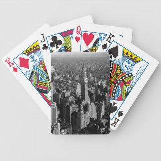 Chrysler Building New York Manhattan Bicycle Playing Cards