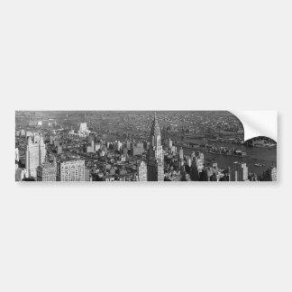 Chrysler Building New York Manhattan Car Bumper Sticker