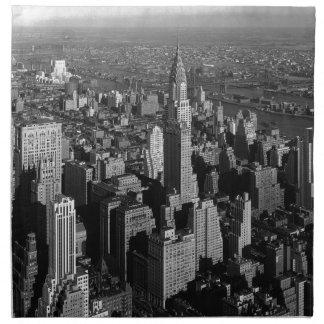 Chrysler Building New York Manhattan Napkin
