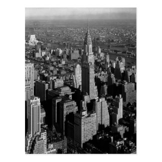 Chrysler Building New York Manhattan Postcard