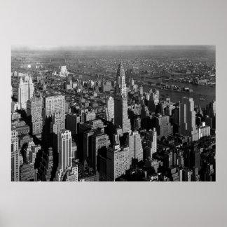 Chrysler Building New York Manhattan Poster