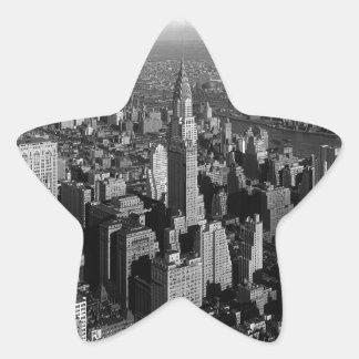 Chrysler Building New York Manhattan Star Sticker