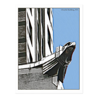 Chrysler Building, NYC Post Card