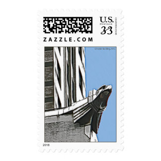 Chrysler Building, NYC Postage Stamp