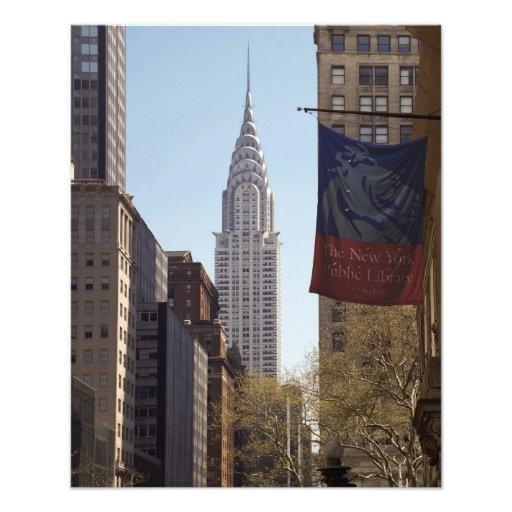 Chrysler Building PHOTO PRINT