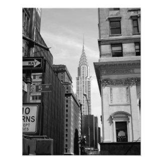 Chrysler Building PHOTO PRINT B&W