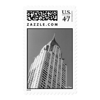 Chrysler Building Postage