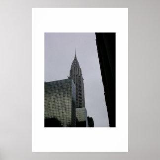 Chrysler Building  Poster