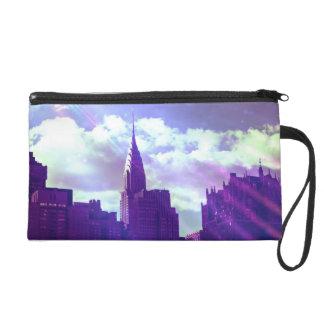 Chrysler Building - Purple - New York Fairy Tale Wristlets