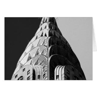 Chrysler Building Spire Card