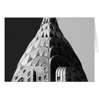 Chrysler Building Spire Greeting Card