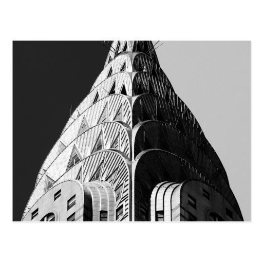Chrysler Building Spire Postcard