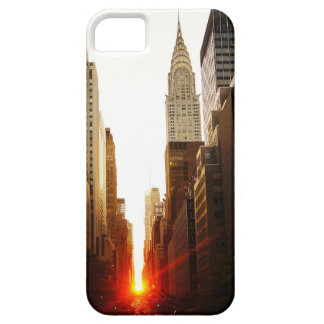 Chrysler Building Sunset iPhone 5 Covers