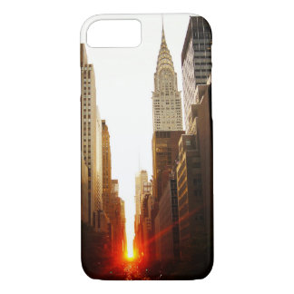 Chrysler Building Sunset iPhone 7 Case