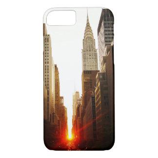 Chrysler Building Sunset iPhone 8/7 Case