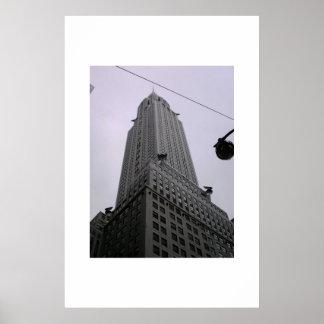 Chrysler Building Tall Poster