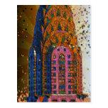 Chrysler Building Top Closeup #1 Postcard