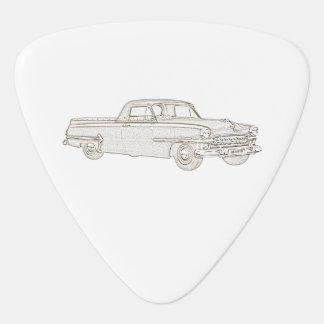 Chrysler DeSoto Coupe Utility Guitar Pick