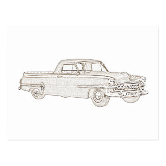 Chrysler DeSoto Coupe Utility Postcard