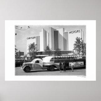 Chrysler & Greyhound Poster