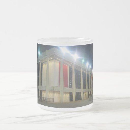 Chrysler Hall 10 Oz Frosted Glass Coffee Mug