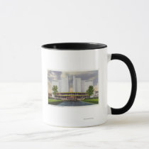 Chrysler Motors Exhibit, 1934 World's Fair Mug