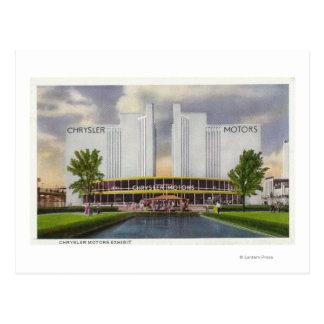 Chrysler Motors Exhibit, 1934 World's Fair Postcard