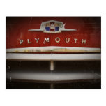 Chrysler Plymouth Post Card