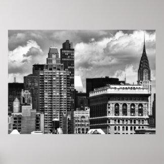 Chrysler que construye, edificio de Flatiron, casa Impresiones