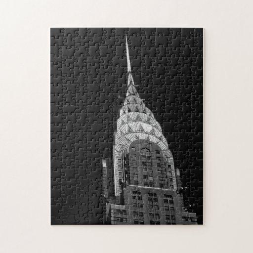 Chrysler que construye - New York City Rompecabezas Con Fotos
