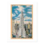 Chrysler que construye, New York City Tarjetas Postales