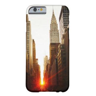Chrysler que construye puesta del sol funda de iPhone 6 barely there