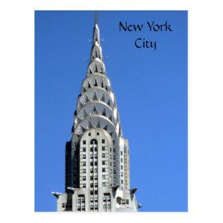 chrysler silver ny postcard