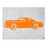 Chrysler Vintage Orange Postcards