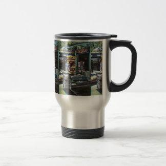 Chrysocolia Morning, Union Square, NYC Travel Mug