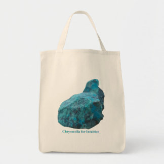 Chrysocolla for Intuition Tote Bag
