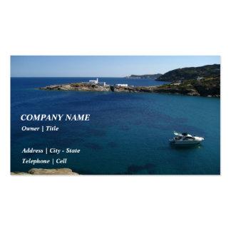 Chrysopigi – Sifnos Business Card Template